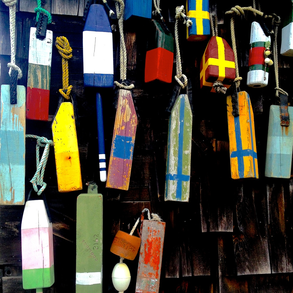 Boat Buoys, Annisquam, Massachusetts