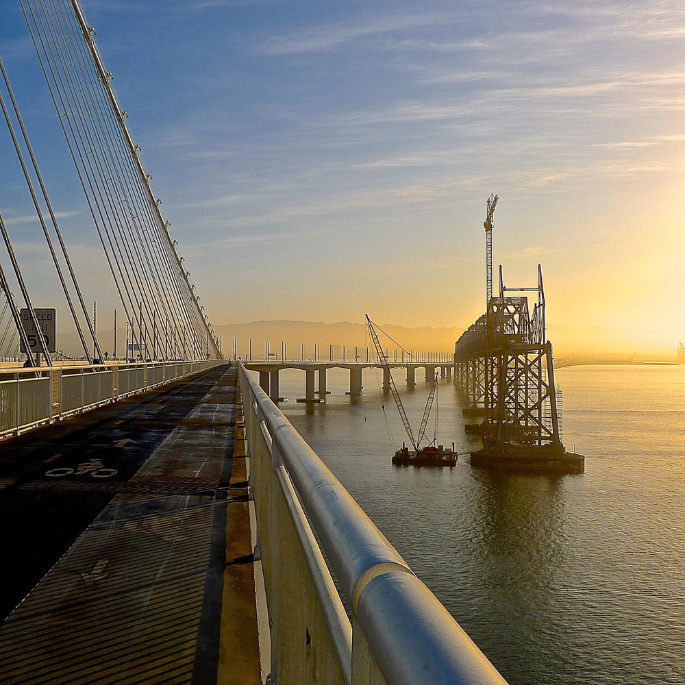 SF-Oakland Bay Bridge De-Construction