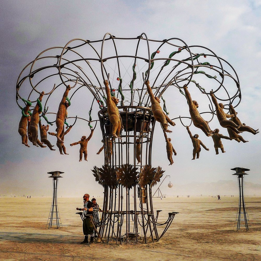 Monkey Business, BurningMan 2013