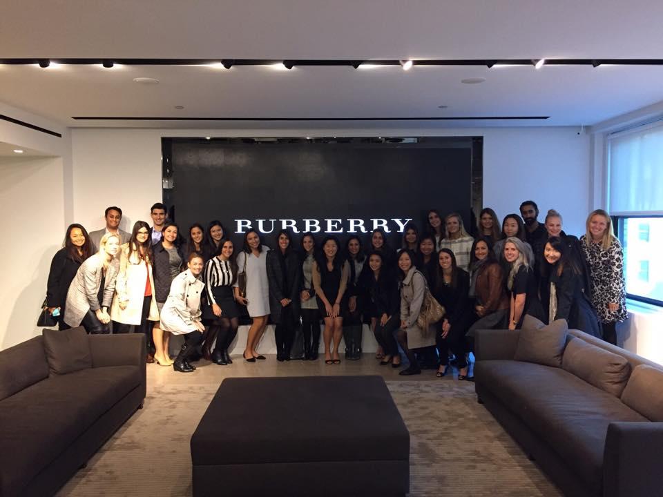 Burberry Company Visit
