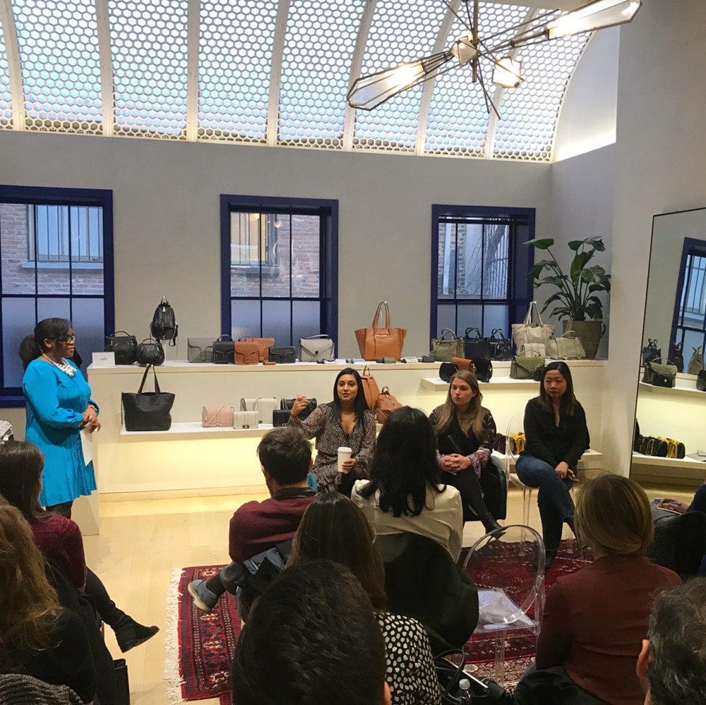 Rebecca Minkoff Store Visit & Q+A