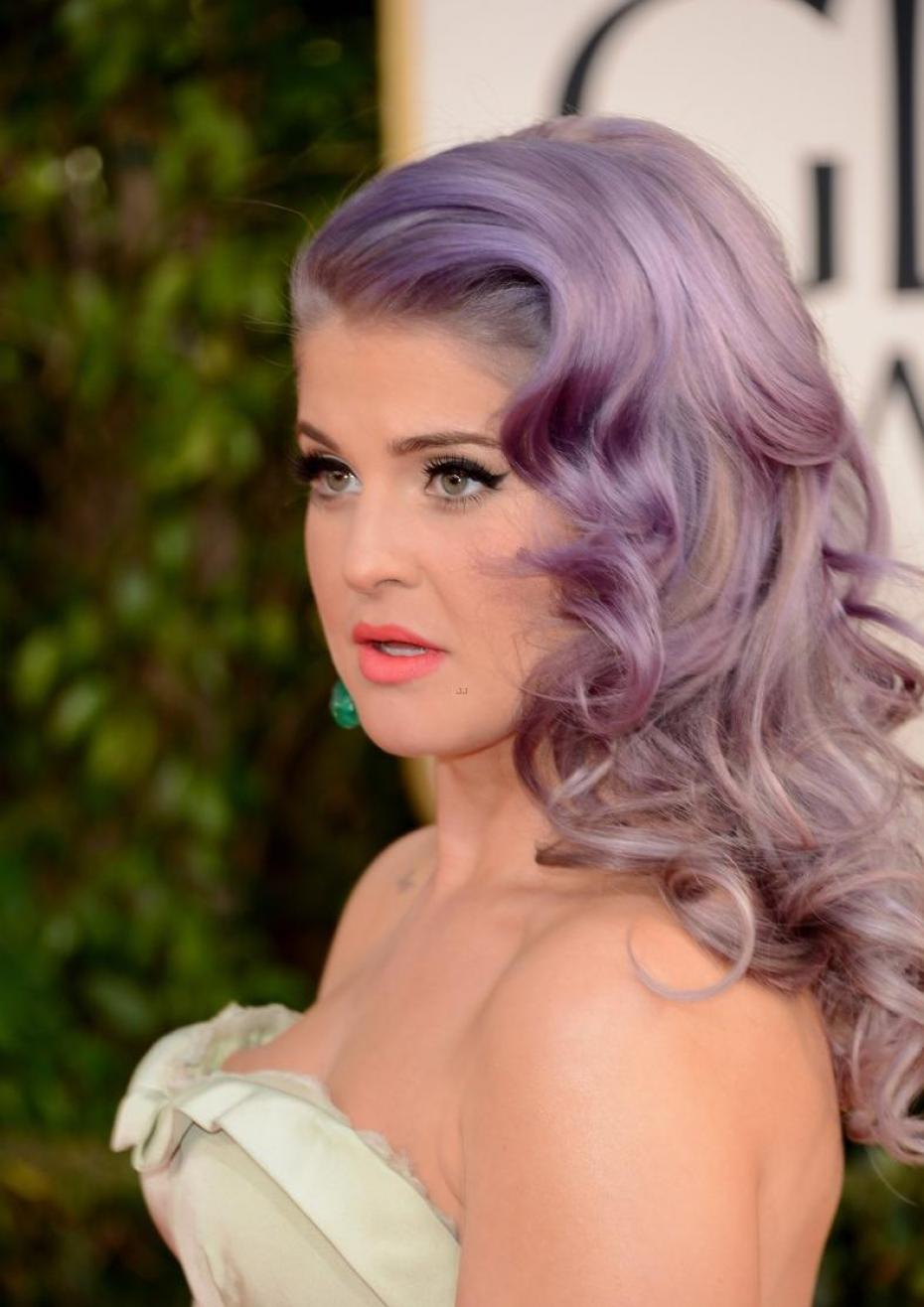Just a fad? We sure hope not - Kelly Osbourne is here to stay and we hope her hair is too!