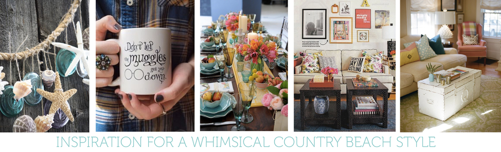Whimsical Country Beach Inspiration