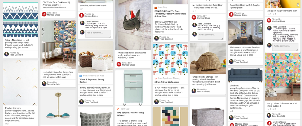 Monica's Pinterest Page