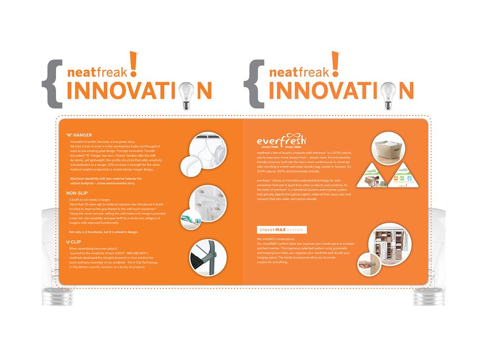 Neatfreak Innovation Team Creative