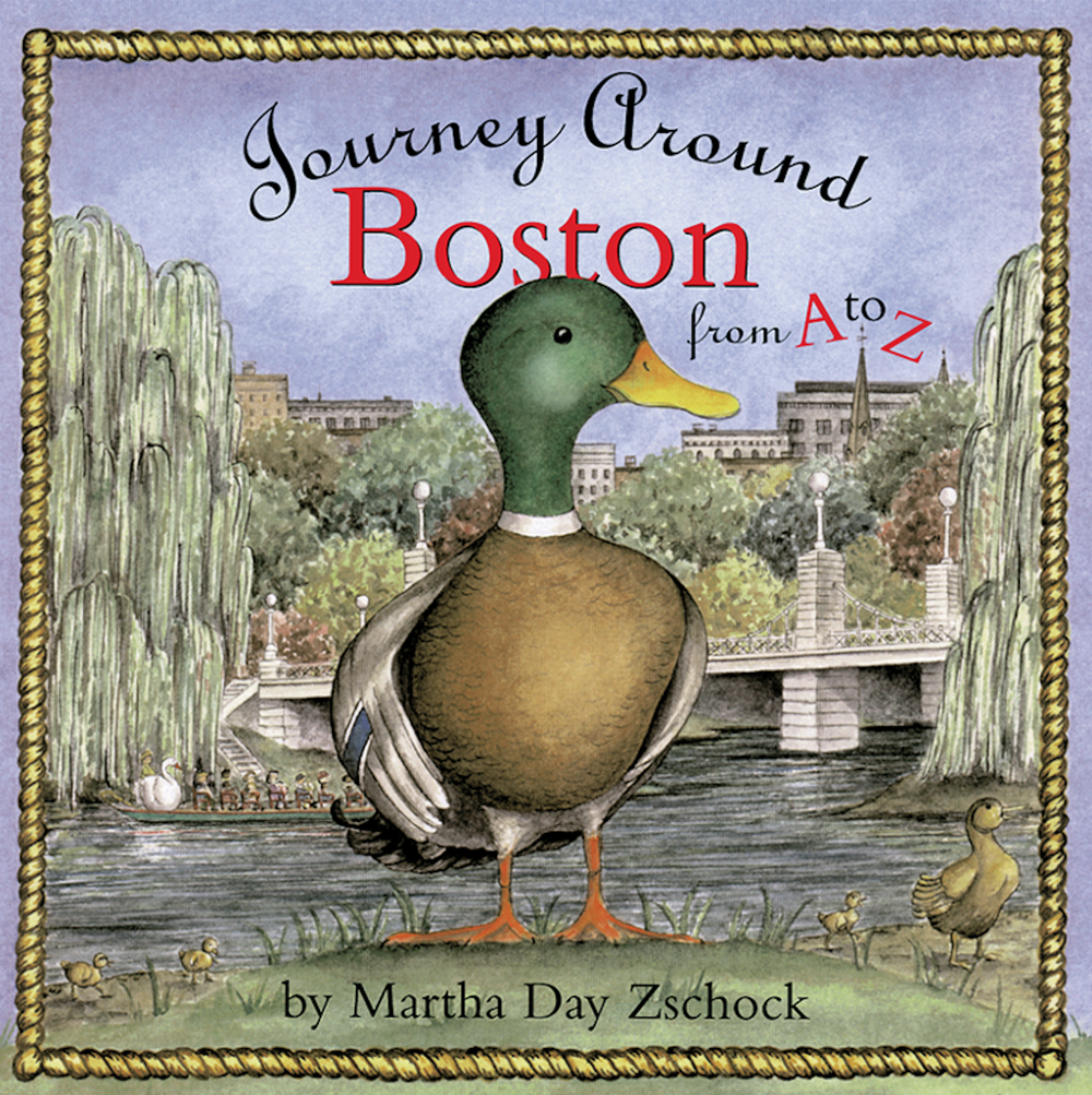Journey Around Boston from A to Z cover