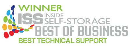 Winner:  Best self storage software support, Inside Self Storage magazine
