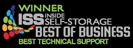 Winner: Best self storage software support, Inside Self Storage magazine