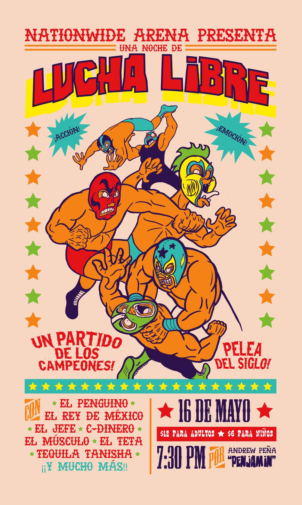 Lucha Poster