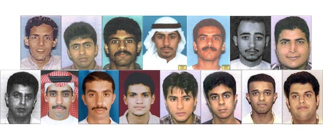 15 of the 19 attackers on 9-11 were from Saudi Arabia.