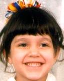 Heidi McClain al-Olmary at age 5.