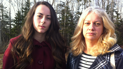 SONJA POWER AND MOTHER MICHELE WALSH