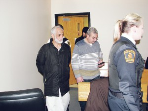 Khalaf Alshaek in court.