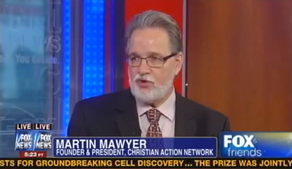 Martin Mawyer speaks with Fox and Friends