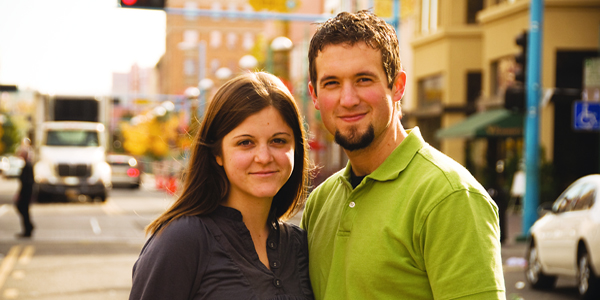 Elaine and Jonathan Huguenin, owners of Elane Photography