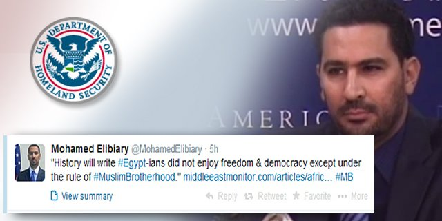 Senior Homeland Security Adviser Mohamed Elibiary