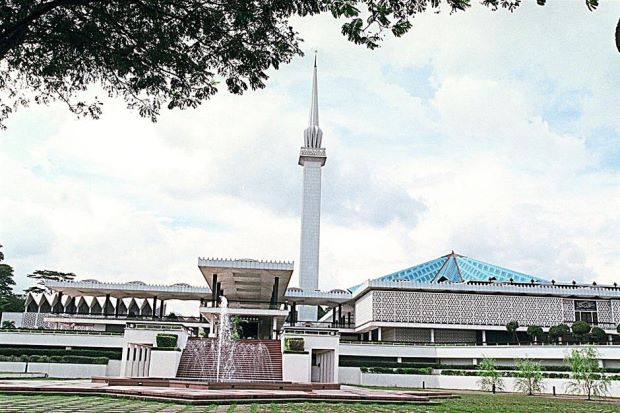 Iconic landmark: Muslim scholars say Obama's visit to Masjid Negara will further emphasise the president's commitment to reach out to the Muslim world.