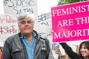 Comedian Jay Leno is one of the celebrities protesting Sharia law in Brunei by boycotting hotels owned by the Sultan of Brunei.