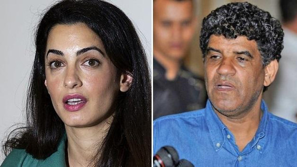 George Clooney's fiance, Amal Alamuddin, is set to represent Gadhafi's notorious spy chief.