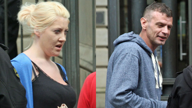 Chelsea Lambie and Douglas Cruickshank have been jailed for desecrating an Edinburgh mosque with strips of bacon