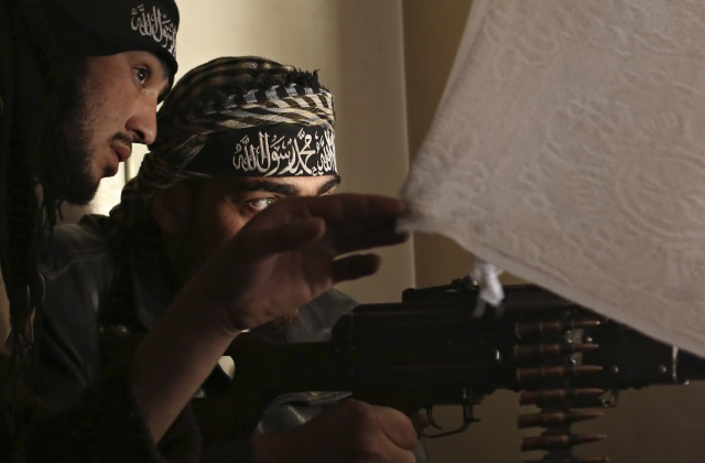 Islamist fighters in Syria (Photo: © Reuters)