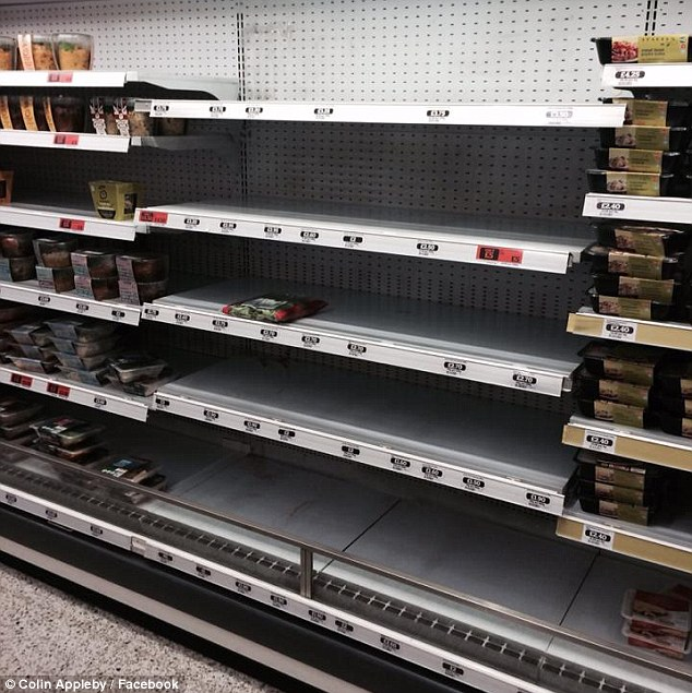 Anger: Kosher goods were removed yesterday from a Sainsbury's Local in Holborn, central London, allegedly over fears that protesters would damage them. But a passer-by claimed staff said: 'We support Free Gaza'
