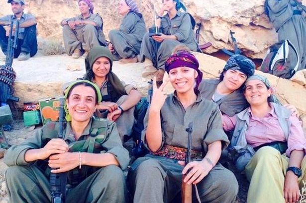 A-Team: An elite unit of female soldiers is on the hunt for ISIS fighters.