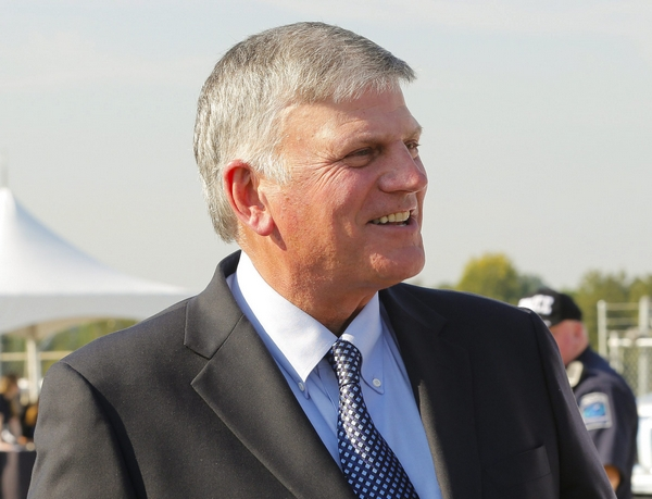 The Rev. Franklin Graham. (Nell Redmond/EPA/Landov)