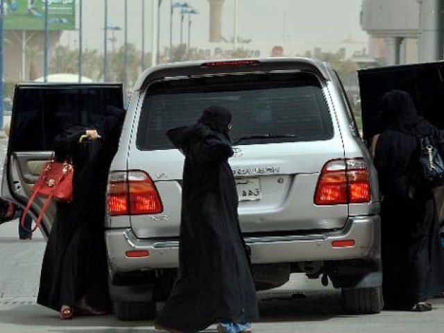 Saudi Arabia is the only country in the world where women are not allowed to drive. PHOTO: AFP