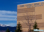 Officials at Pine Creek High School say the 'separation of church and state' requires a ban on religious speech.