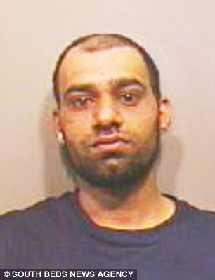 Abdul Ghafoor, 33, dragged the young woman into bushes and raped her for three hours.