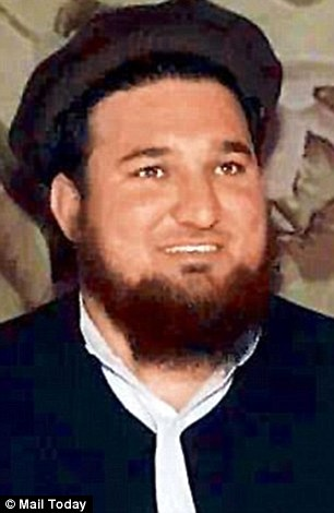 Profile: Ehsanullah Ehsan, pictured, listed his profession as a spokesman for the TTP Jamaat Ahrar - a splinter group of the Pakistani Taliban.