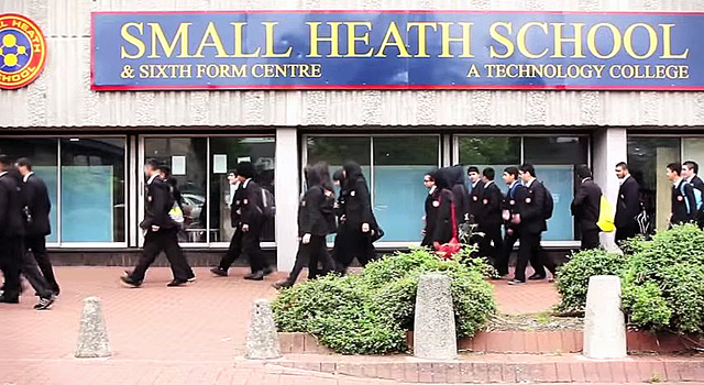 Small Heath School, in Birmingham UK.