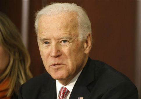 Vice President Joe Biden at the White House's Countering Violent Extremism summit / AP