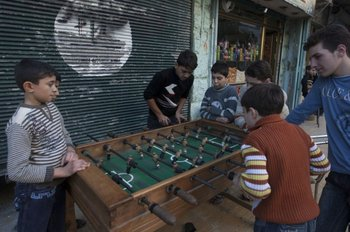 A fatwa issued by the so-called Islamic State (Isis) allows militants to play table football in their free time, provided that the figures are decapitated.