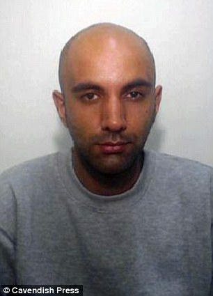 Nazakat Ali, 30 (above), has been jailed for 14 years for attempted murder after stabbing his 27-year-old wife Shahzana Kausar 15 times during an argument.