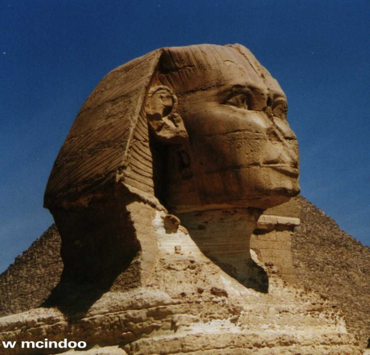 Although stories abound about how the Sphinx lost its nose, manyhistorians believe it was destroyed by a Muslim leader in the 14th centuryafter he learned that peasants were worshippingthe Sphinx.