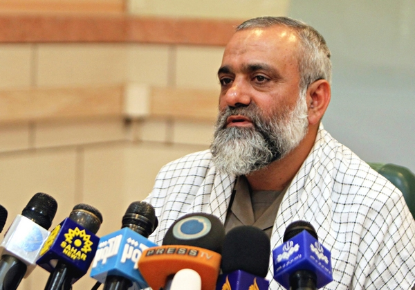 Commander of Iran's Basij force Brigadier General Mohammad Reza Naqdi. (EPA/Landov).