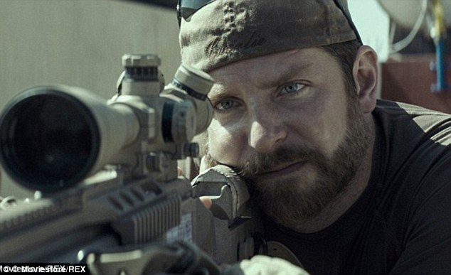 Bradley Cooper in his Oscar Nominated role as Chris Kyle, the most deadly sniper in US military history.