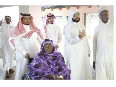 "Obama's grandmother arriving in Saudi Arabia for ""Umrah."""