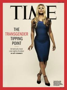 "Time magazine, June 9, 2014, cover story, The Transgender Tipping Point: America's Next Civil Rights Frontier."" (Photo: AP)"