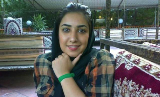 Atena Farghadani (Image courtesy Justice for Iran)