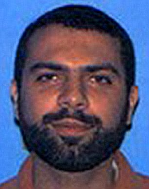 Killed: Ahmad Abousamra, 33, was well known to the authorities in the U.S. and appeared on the FBI's 'Most Wanted Terrorists' list with a $50,000 reward.