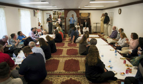 Teachers took time off school to attend a Muslim prayer session, courtesy of the taxpayer./Photo: Lebanon Daily News