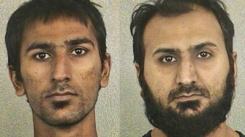 Raees Alam Qazi, 22, and his brother, Sheheryar Alam Qazi, 32, of Oakland Park, pleaded guilty earlier this year to conspiring to provide support to terrorists and conspiring to assault two deputy U.S. marshals. The younger brother also admitted he tried to provide material support to al-Qaida. Raees Qazi admitted he planned to set off a bomb in Manhattan.(Photos courtesy of the Broward Sheriff's Office)