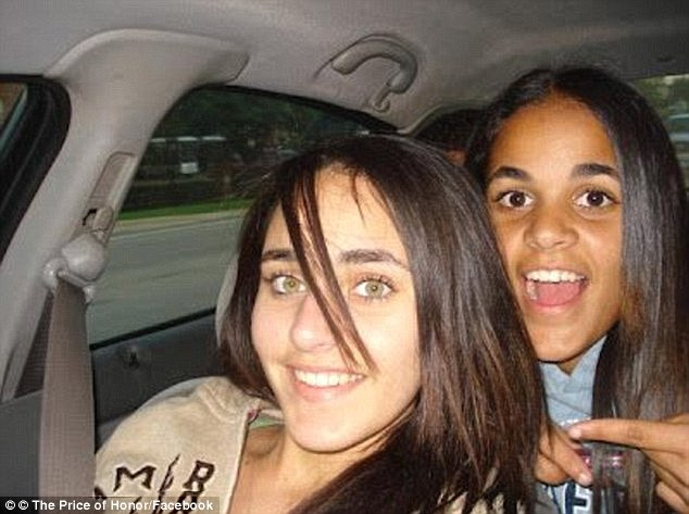Amina Said, 18, pictured left, and her sister Sarah, 17, pictured right, were killed on New Year's Day in 2008.