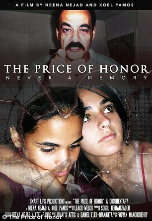 This week a movie about the girls' story called 'The Price of Honor' was screened in Washington. In it their father Yaser Abdel Said is accused of honor killing.