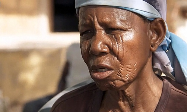 Anna, a former Boko Haram captive, claims some of the girls were forced to kill. Photograph: BBC