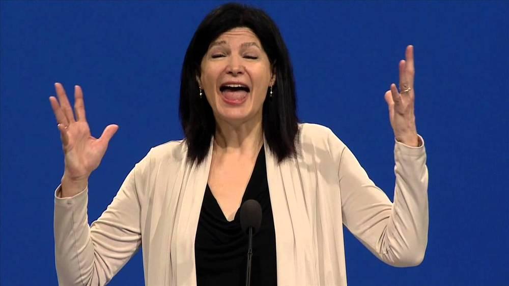 Lily Eskelsen Garcia, president of the National Education Association.