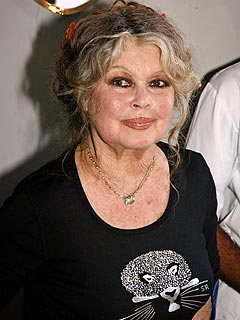 Brigitte Bardot tried five times for inciting racial hatred.